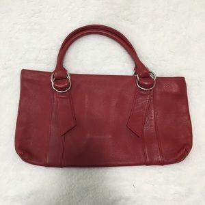Express Design Studio Red Leather Purse